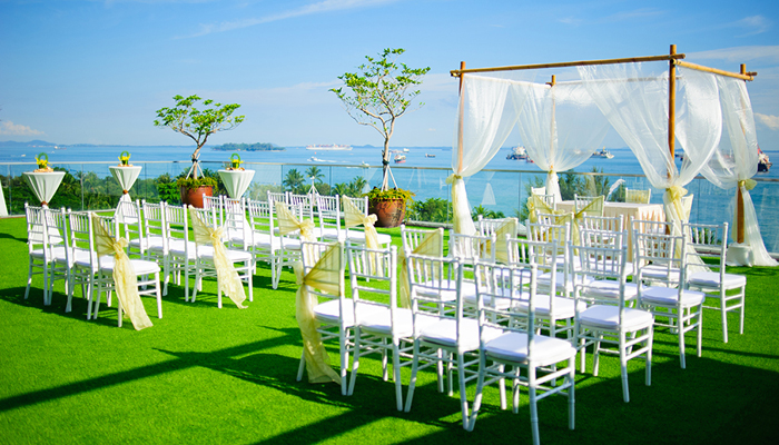 Outdoor Wedding Venues - iFly Singapore