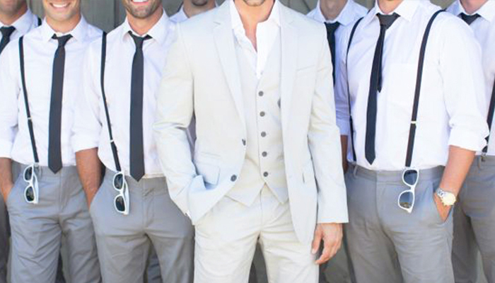 Groomsmen Dress Well