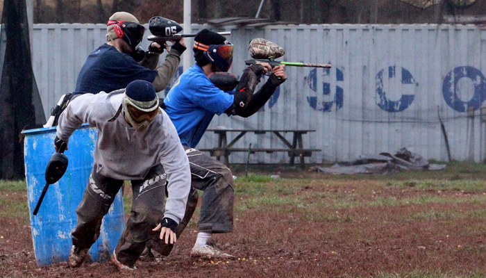halal bachelor party paintball