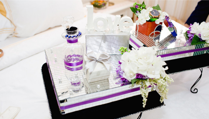 malay wedding gifts decor
