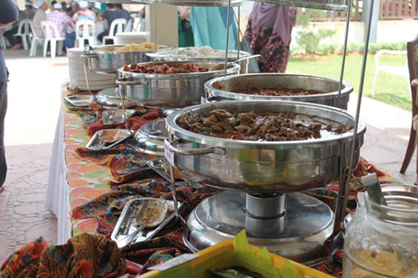 Malay Wedding Food - Main Dishes