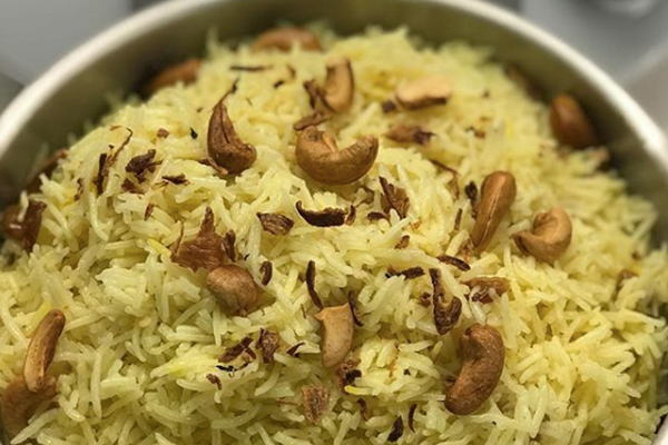 Malay Wedding Food - Rice