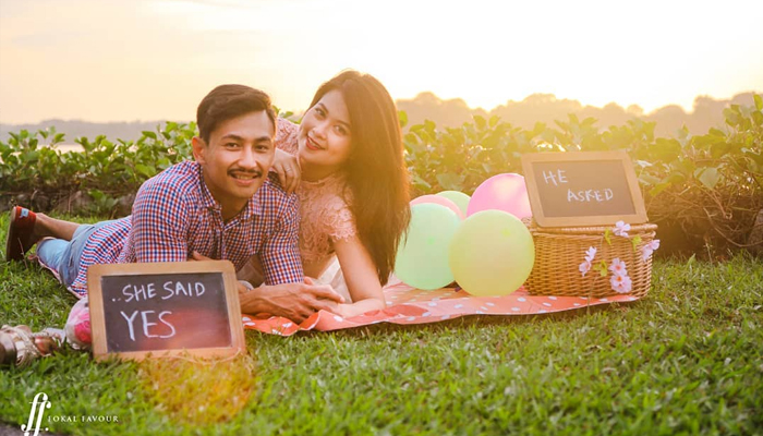 Wedding Photography Singapore - Pre Wedding Shoot