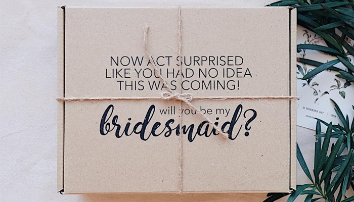 bridesmaids question