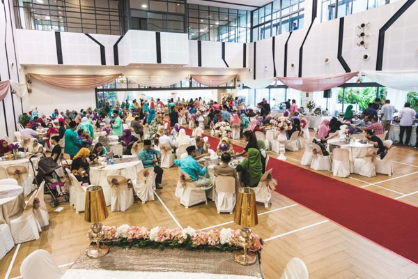 Malay Wedding Venue - Ace The Place Community Centre