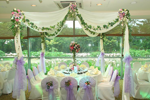Unique Malay Wedding Venue - Jurong Bird Park